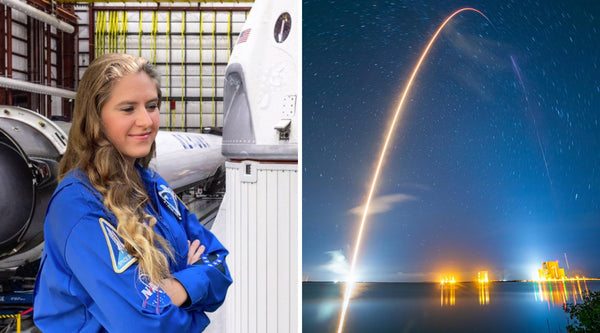 Flora Quinby is a Manufacturing Engineer at SpaceX with a dream of one day becoming an astronaut