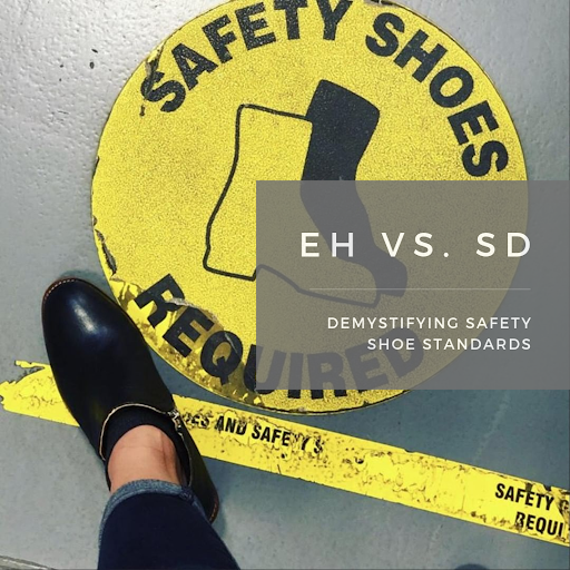 EH & SD Rated Safety Shoes