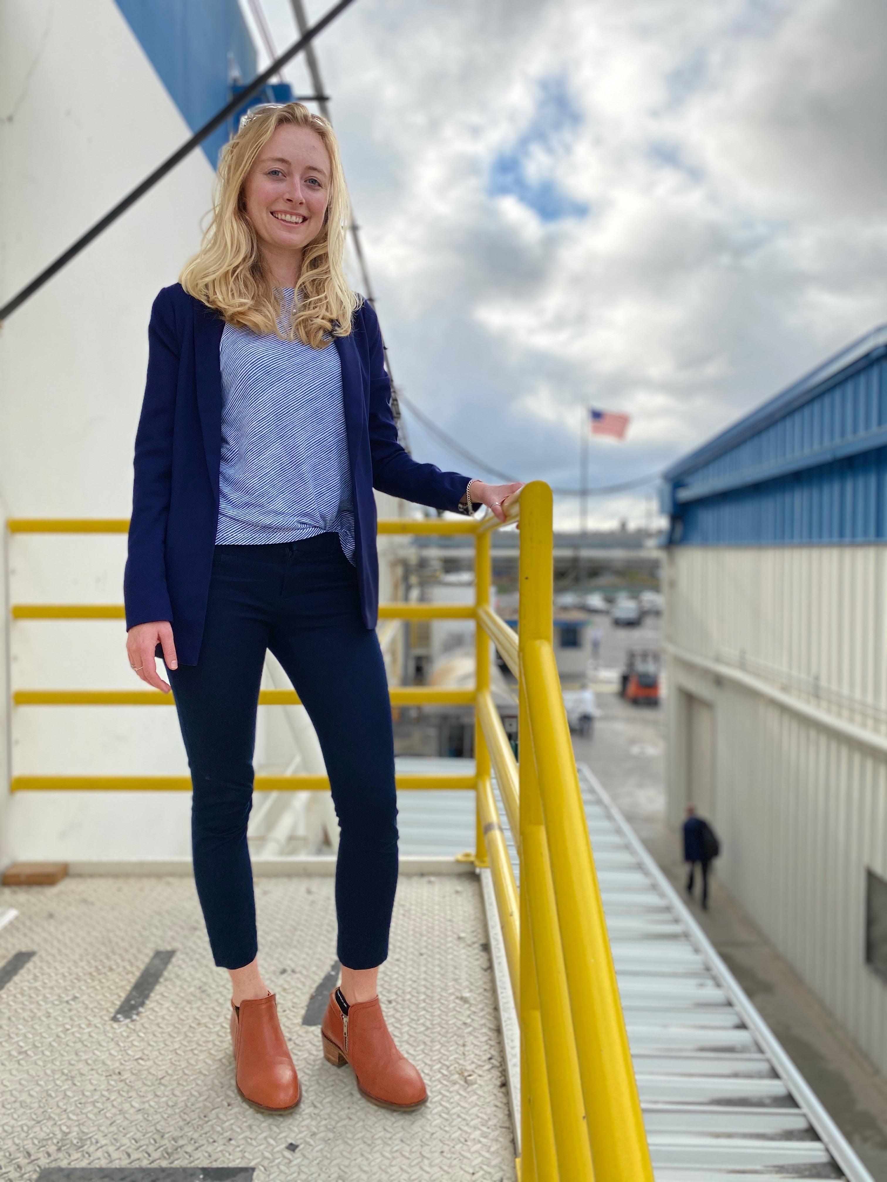 Katie Ziegler an Aerospace Manufacturing Engineer