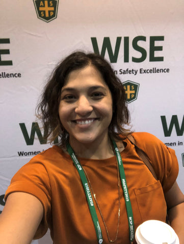 Camille Oakes at the WISE conference