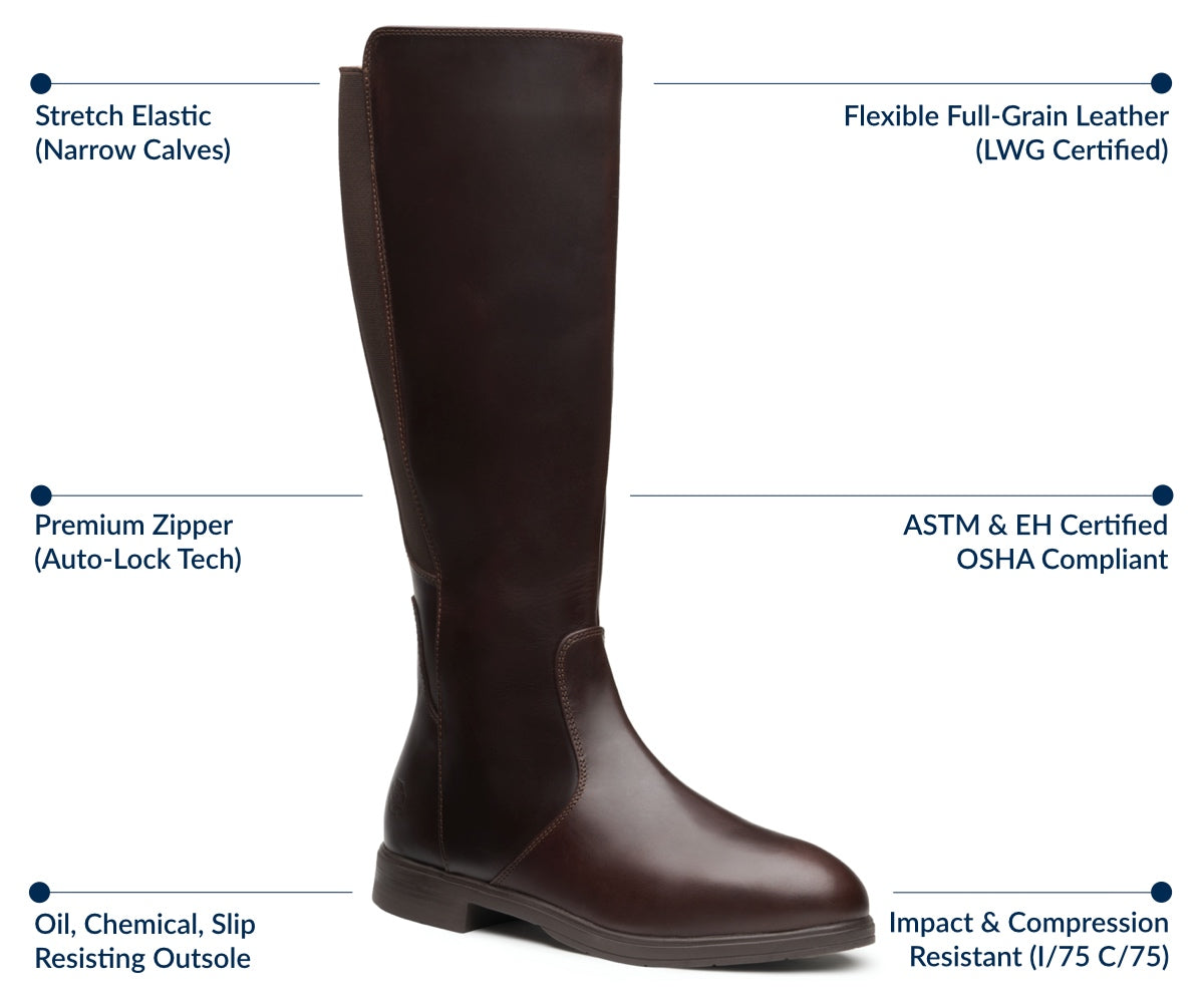 Nova Electrical Hazard Safety Riding Boot | Features and Benefits