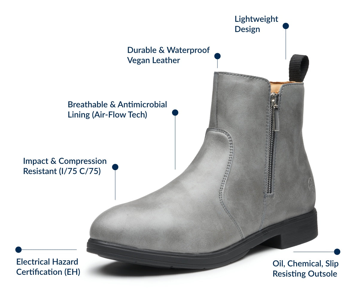 Omega Vegan Electrical Hazard Safety Boot | Features and Benefits