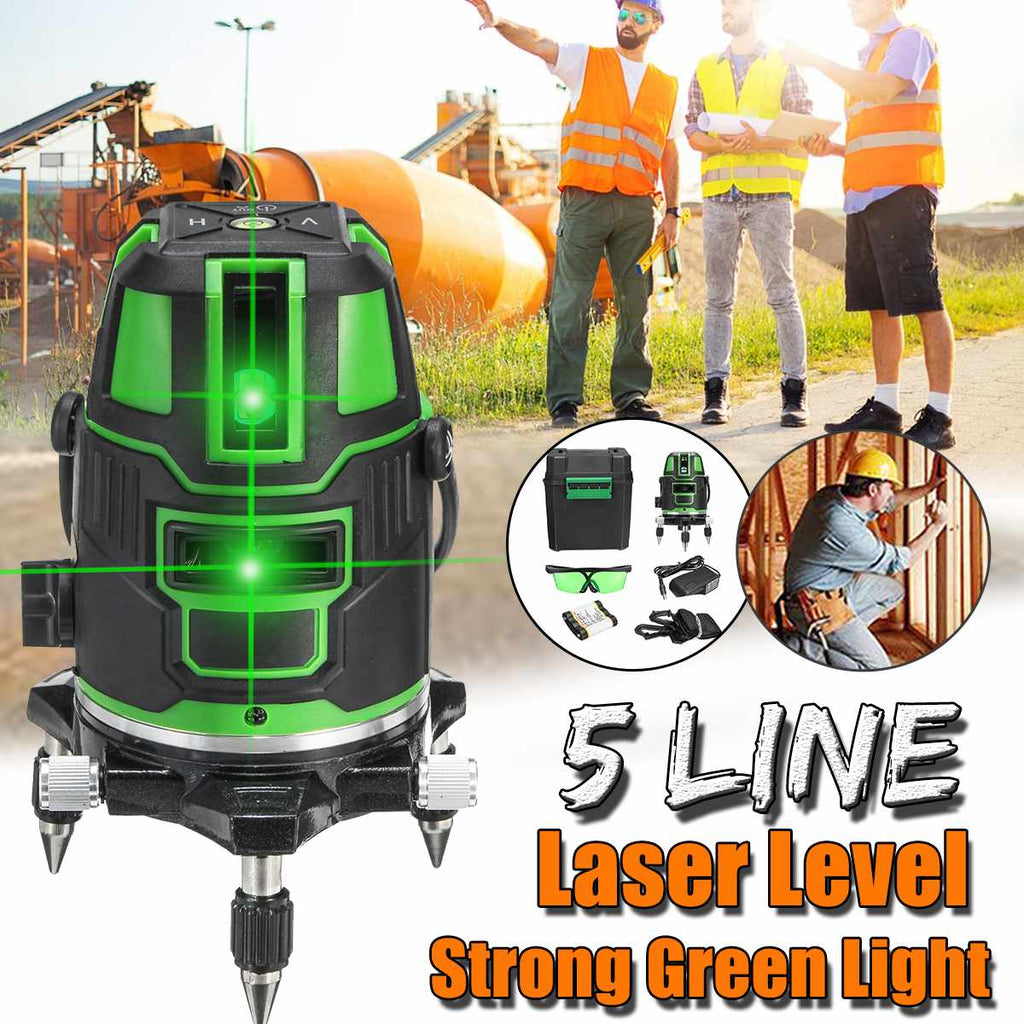 DEKE™ 3D Green Beam Laser Level