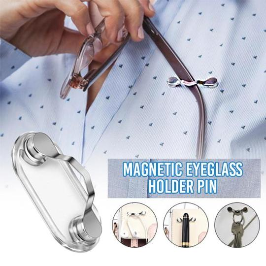 Magnetic Eyeglass Holder Pin