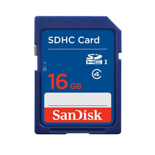 SANDISK 16GB SD CARD
