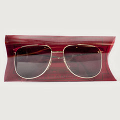 Deadstock Girard 3700 Sunglasses — Red Frames