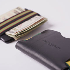 Minimum Viable Wallet — Horween Chromexcel Black