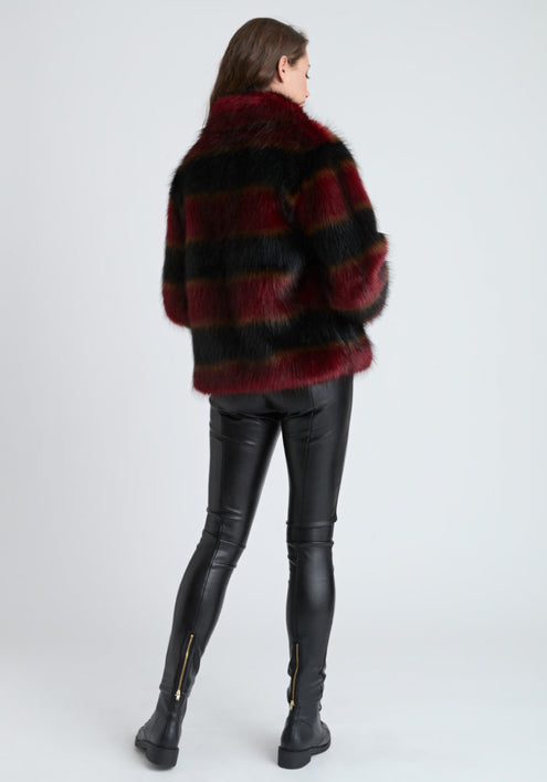 Faux Fur Red