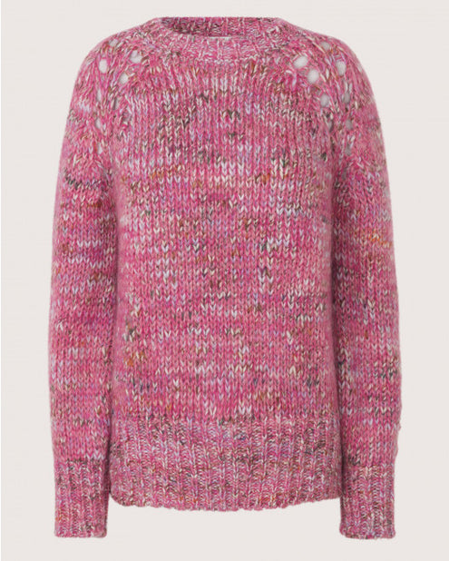 Hubert Pink Sweater