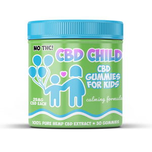 CBD Child | CBD Gummies for Kids - 25 MG each, 30 day supply - Hempazon.com