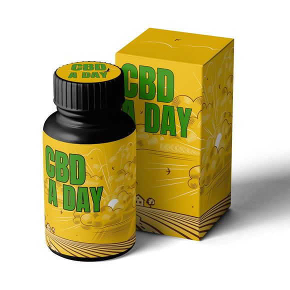 CBD A DAY | Daily CBD Softgel Capsules 20MG 30 day supply - Hempazon.com