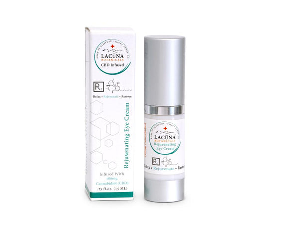 LACUNA BOTANICALS Anti-Aging Eye Cream 7.5 ml / .25 oz - Hempazon.com