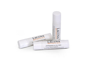 LACUNA BOTANICALS CBD Infused Lip Balm - Peppermint & Tea Tree - Hempazon.com