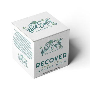 Wild Earth Naturals | Recover + CBD Topical Balm - Hempazon.com