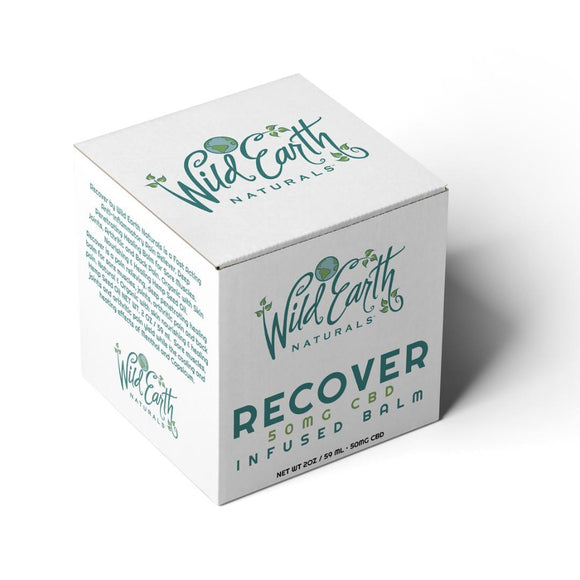 Wild Earth Naturals | Recover + CBD Topical Balm