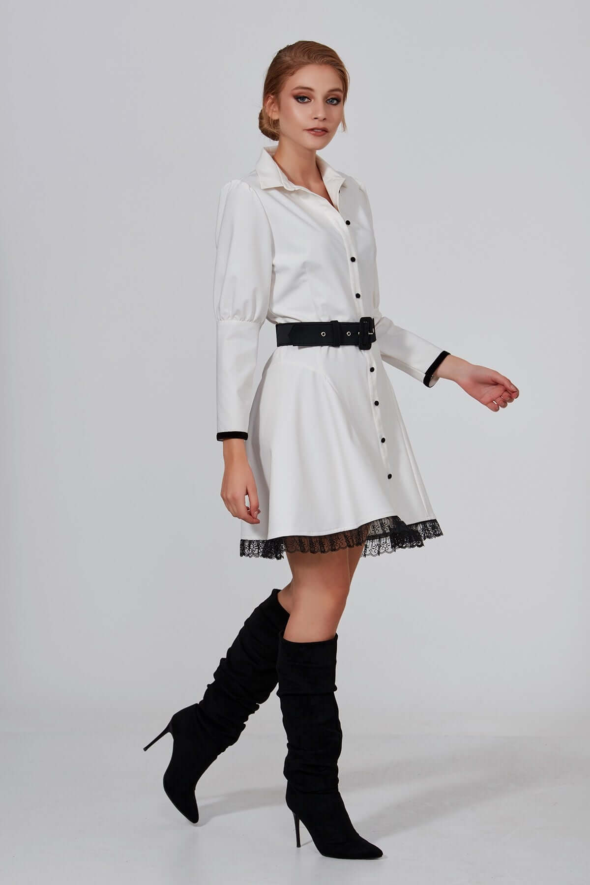 Belted Dress - Mystylebox
