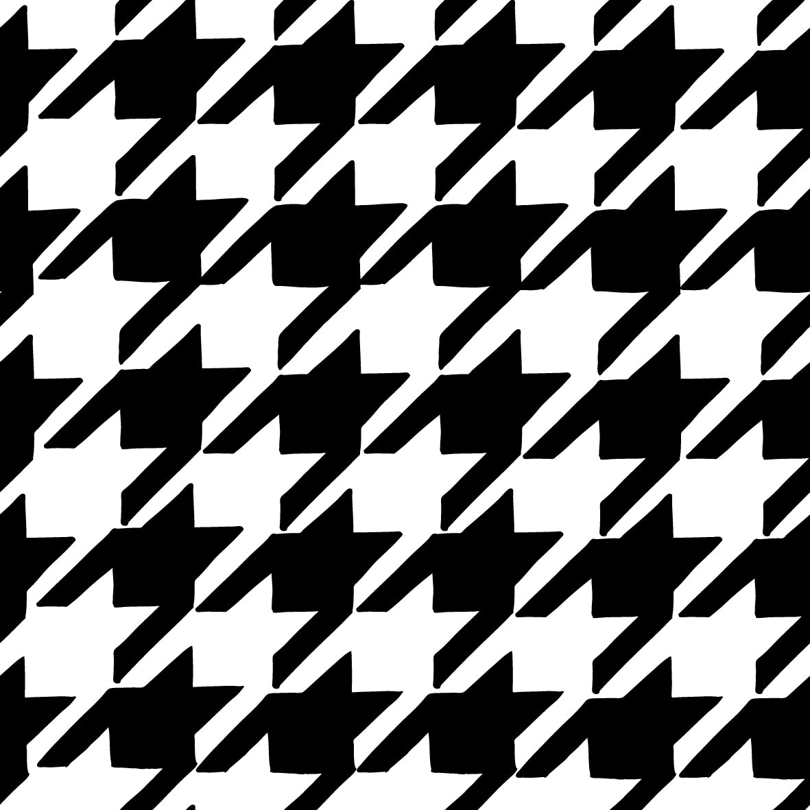 Dog's tooth, Hound's tooth Pattern