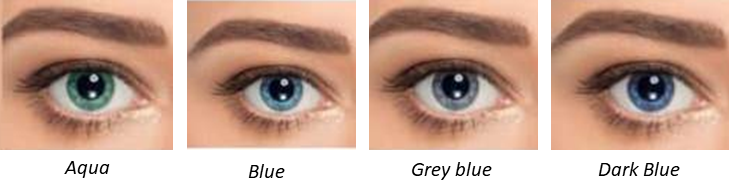 True Summer Eye Colours