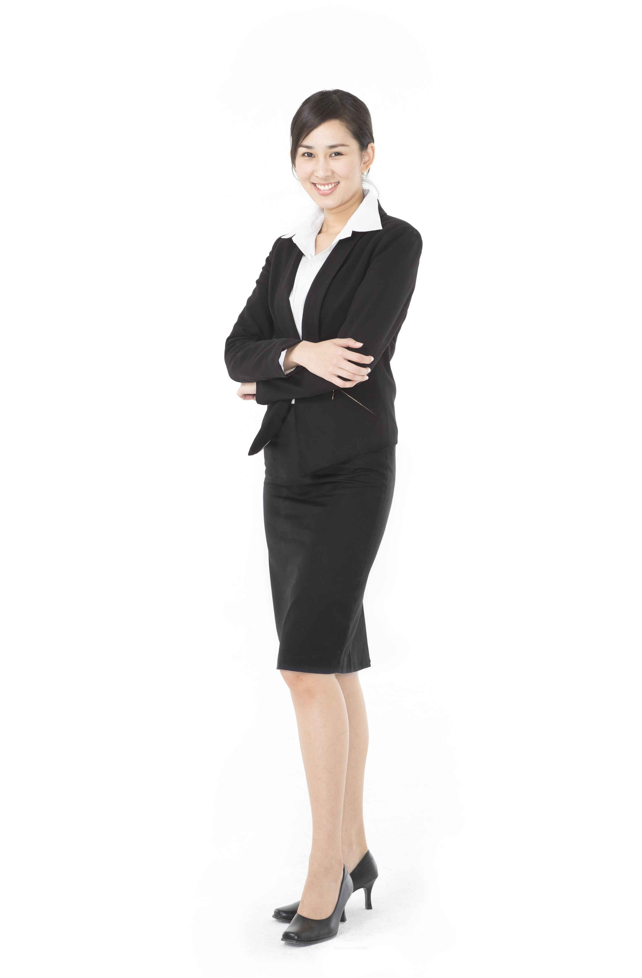 Woman with formal corporate attire