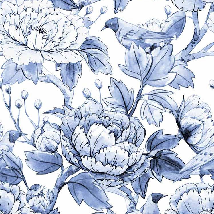 Chinoiserie Floral Pattern
