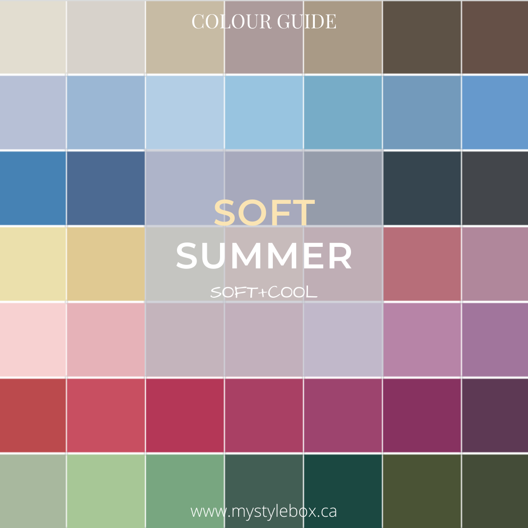 Soft Summer Colour Guide