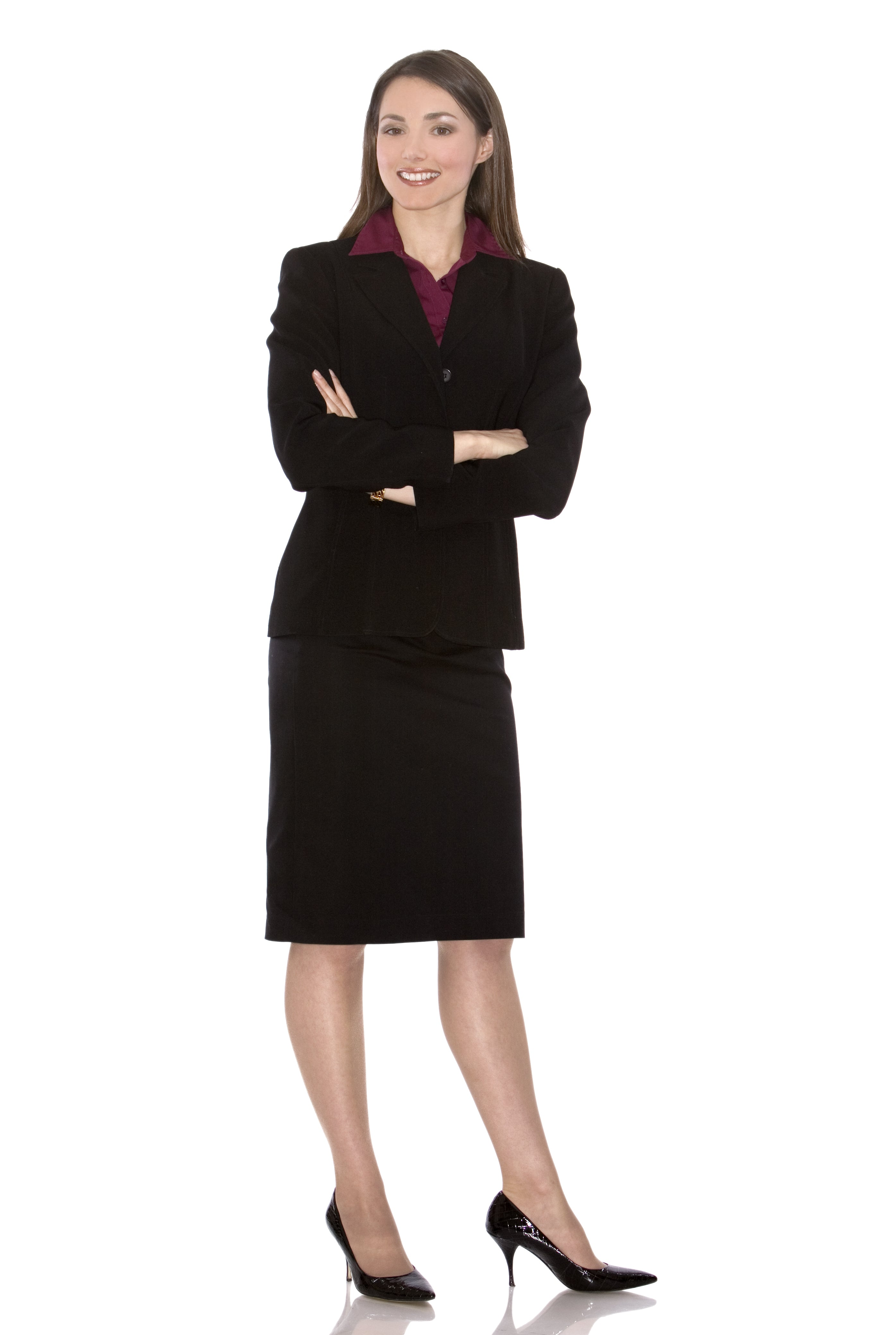 Woman with corporate attire