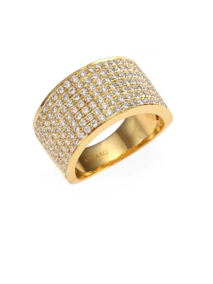 Pave Ring Setting