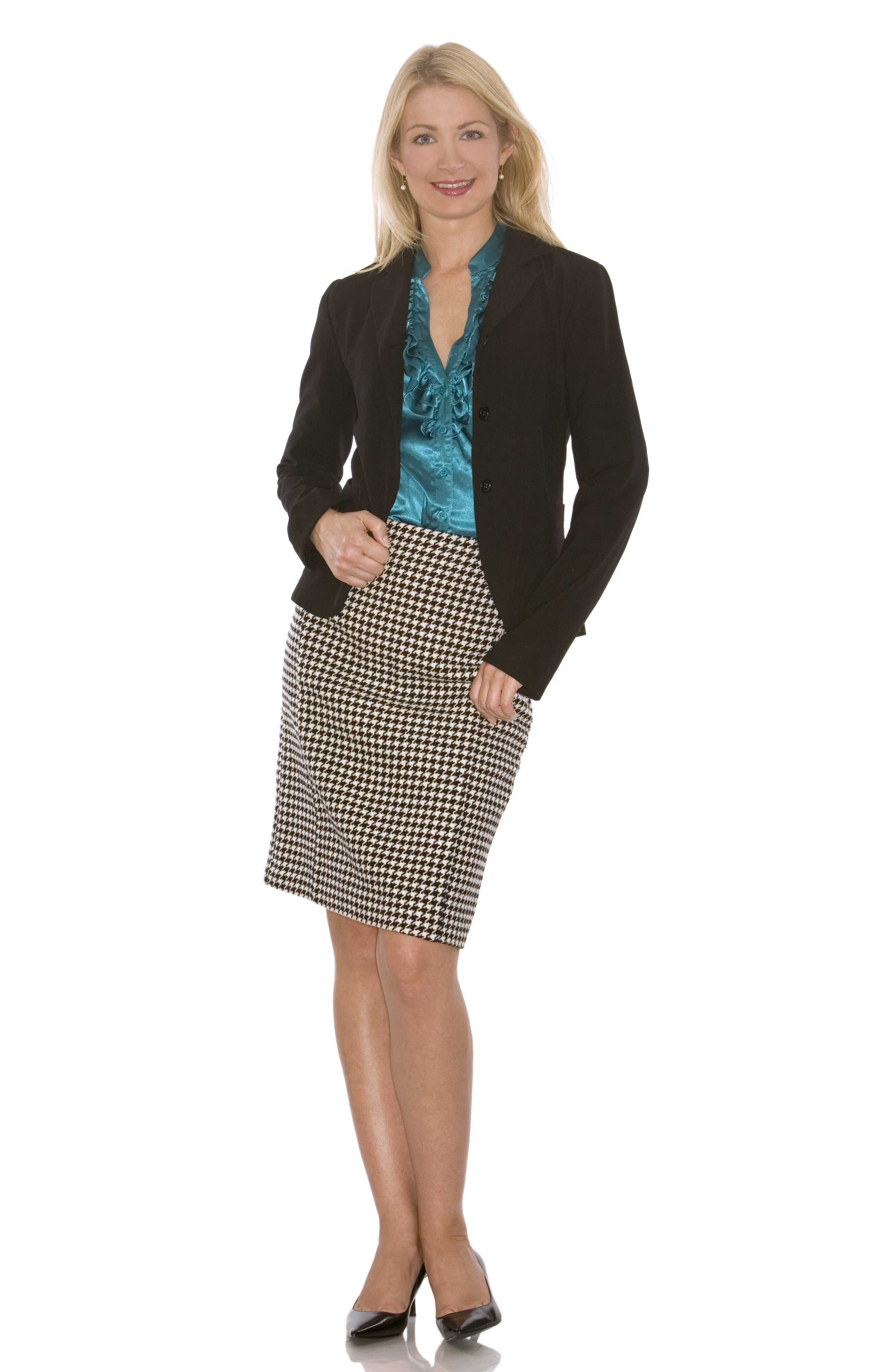 Woman with professional attire