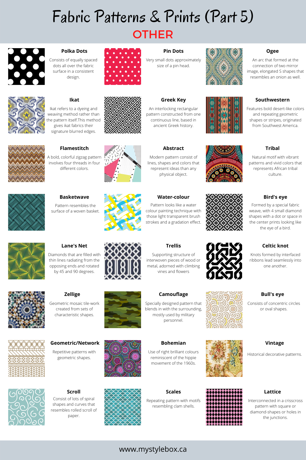 OTHER PATTERNS&PRINTS