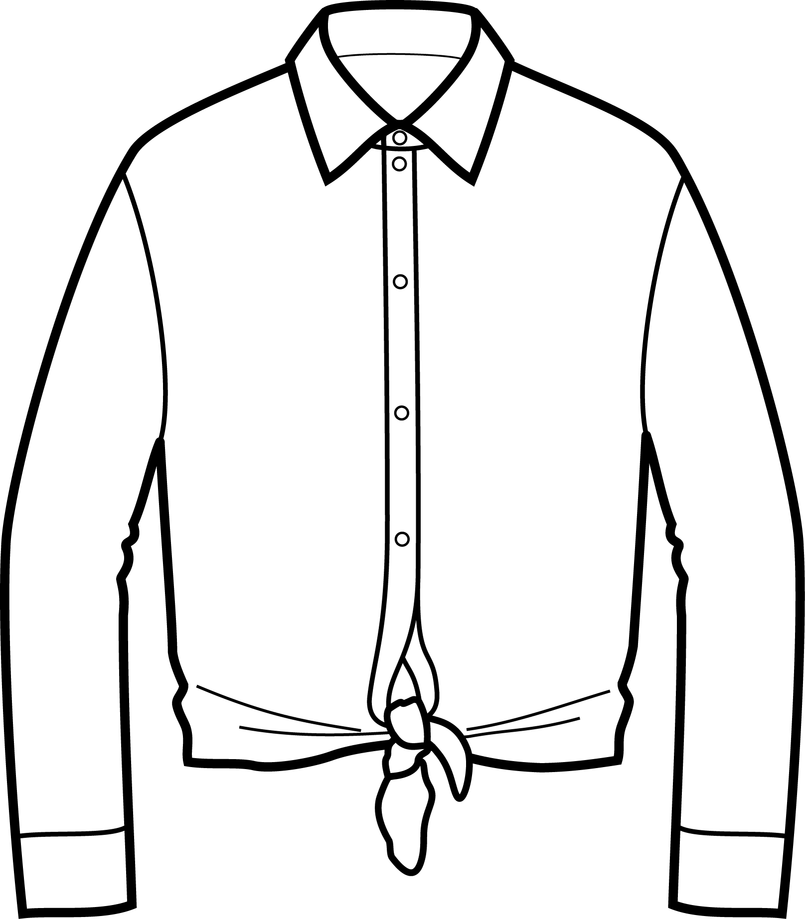 Knot Front Shirts
