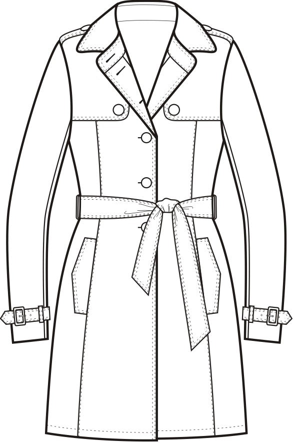 Trench Coat Single Breasted