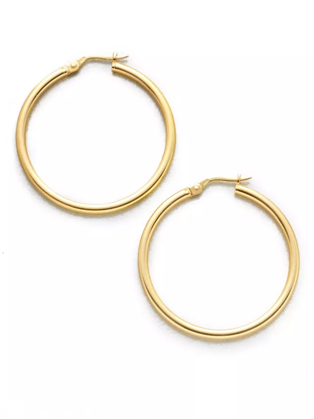 French Back Earrings
