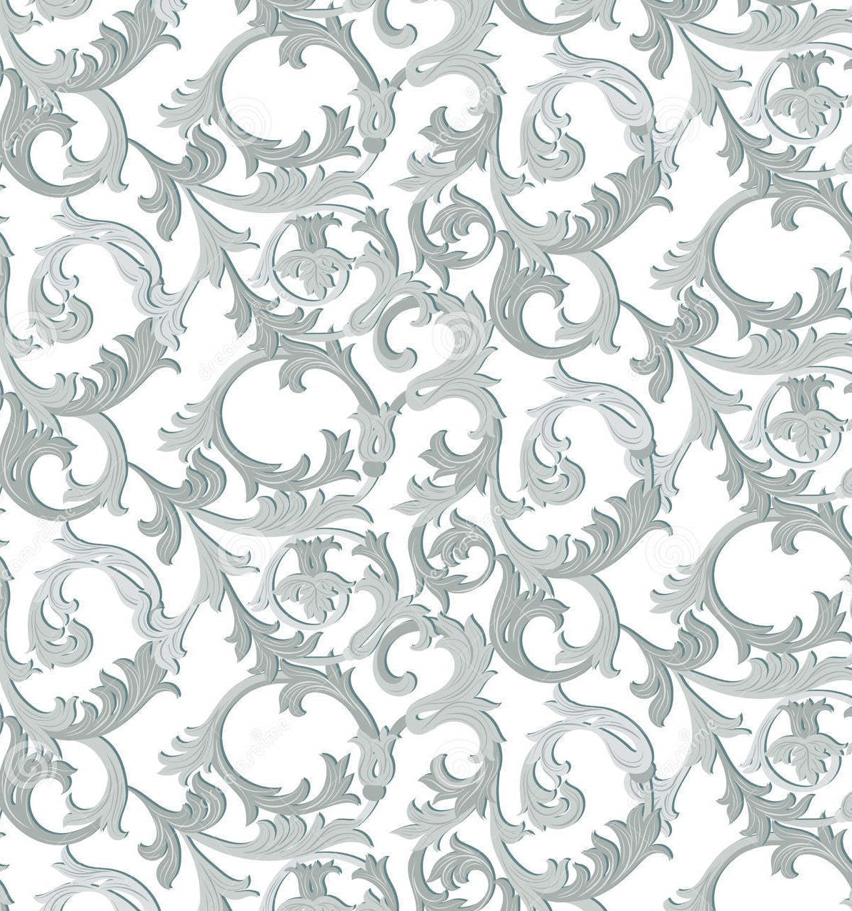 Acanthus Floral Pattern