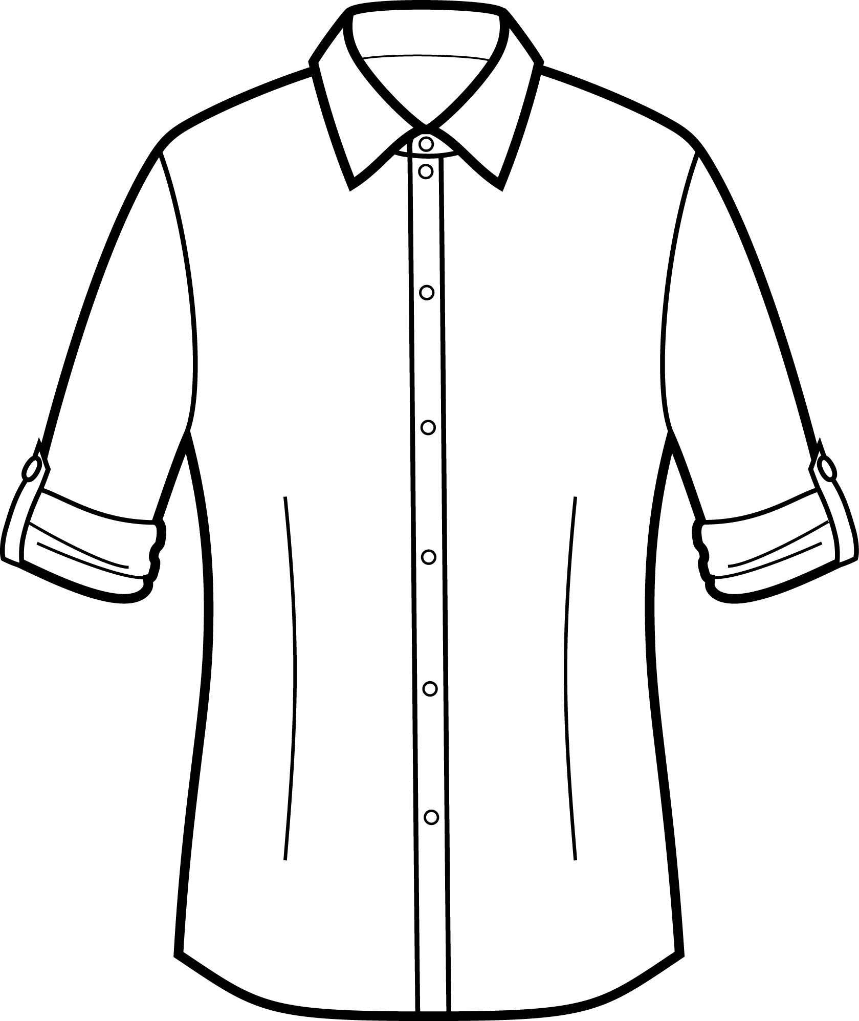 Rolled Sleeve Shirts