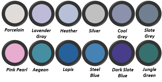 True Summer Eye Shadow Colours
