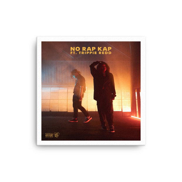 Kodie Shane No Rap Kap Wood Stretched Canvas