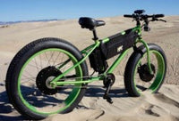 dual motor AWD fast fat tire bicycle