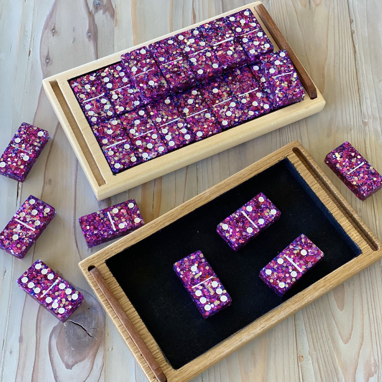 Resin Domino Set