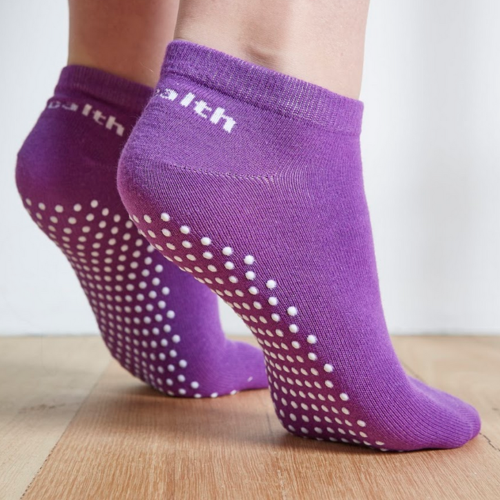 Pilates Socks - Purple 3