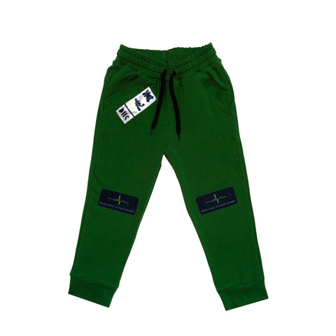"Trousers ""No Signal Censored"" Green"