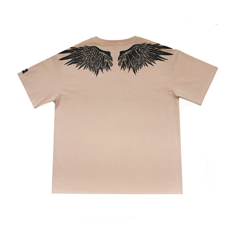 "T-Shirt ""Wings"" Nude"