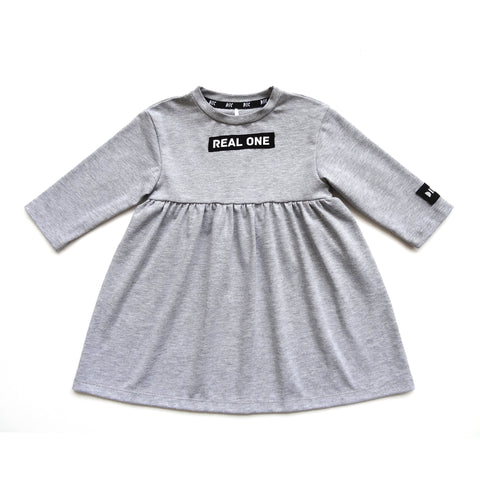 "Dress ""Real One"" Gray"
