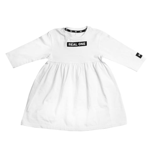 "Dress ""Real One"" White"