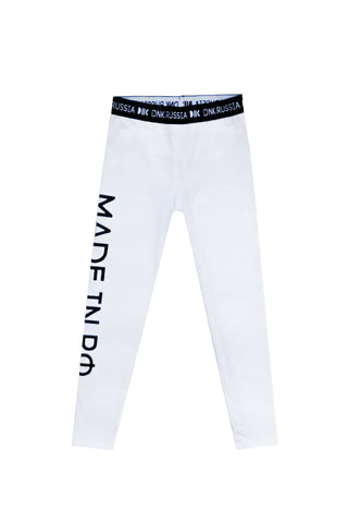Leggings Made In RF White
