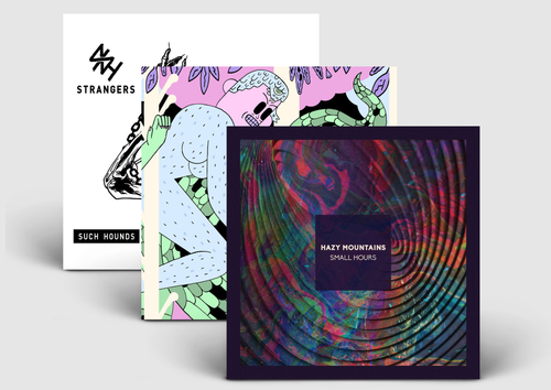 SlyVinyl 3-Pack Bundle - Such Hounds, Way Yes & Hazy Mountains Vinyl LPs