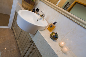 RENOVATION: Easy re-surfacing transforms a bathroom