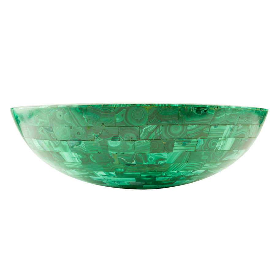 Malachite vessel  BATHROOM SINK - Unique Sinks