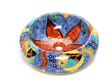 Mexican Delmar Round Vessel Hand-painted Bathroom Basin - Unique Sinks