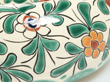 Mexican Amaranta Round Vessel Hand-painted Bathroom Basin - Unique Sinks