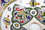 Moroccan BURHAN Hand-Painted Bathroom Sink